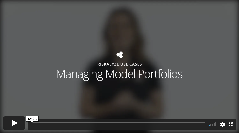 Manage Model Portfolios