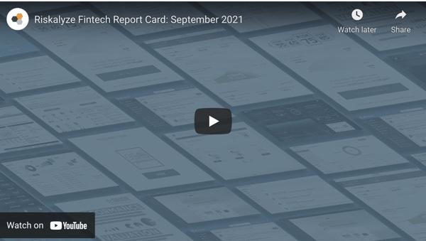 September 2021 Fintech Report Card