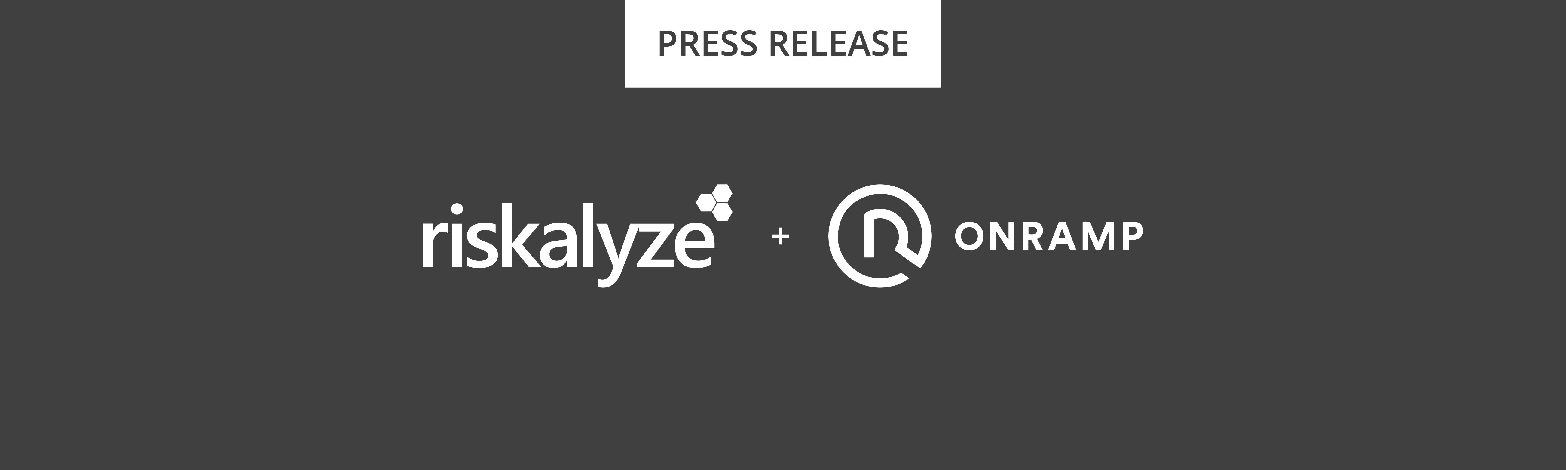 Riskalyze + Onramp Investing Press Release